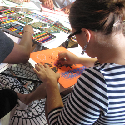 Creative arts + your work team = an eye-opening retreat    New York